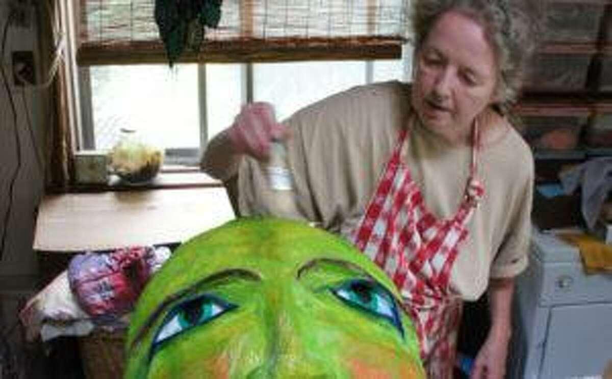 Artist Ellen Moon's video artist talk is now showing from Wisdom House.