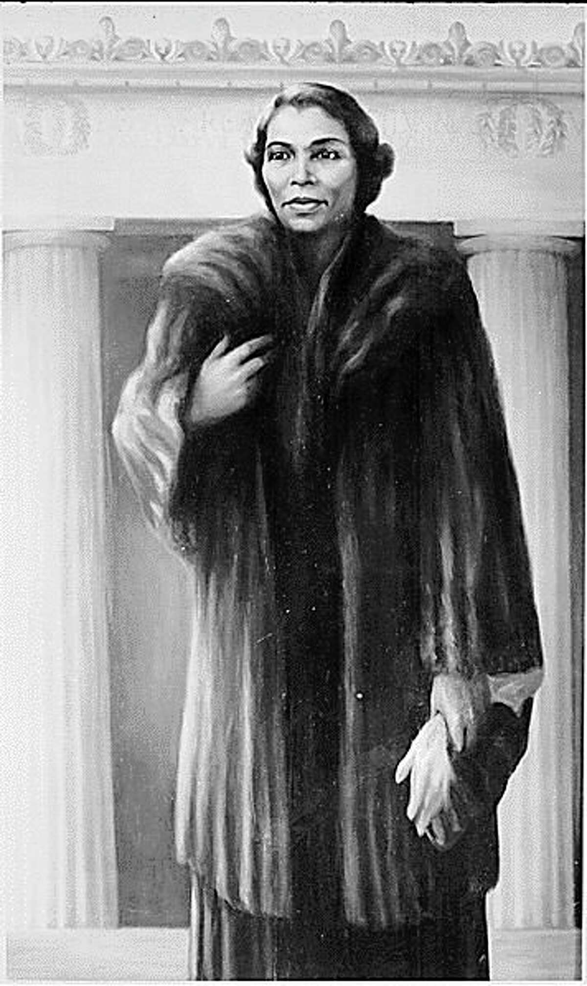 In the 1900s, Marian Anderson became the nation's most celebrated singer and also broke several racial barriers.(Courtesy photo/National Archives)