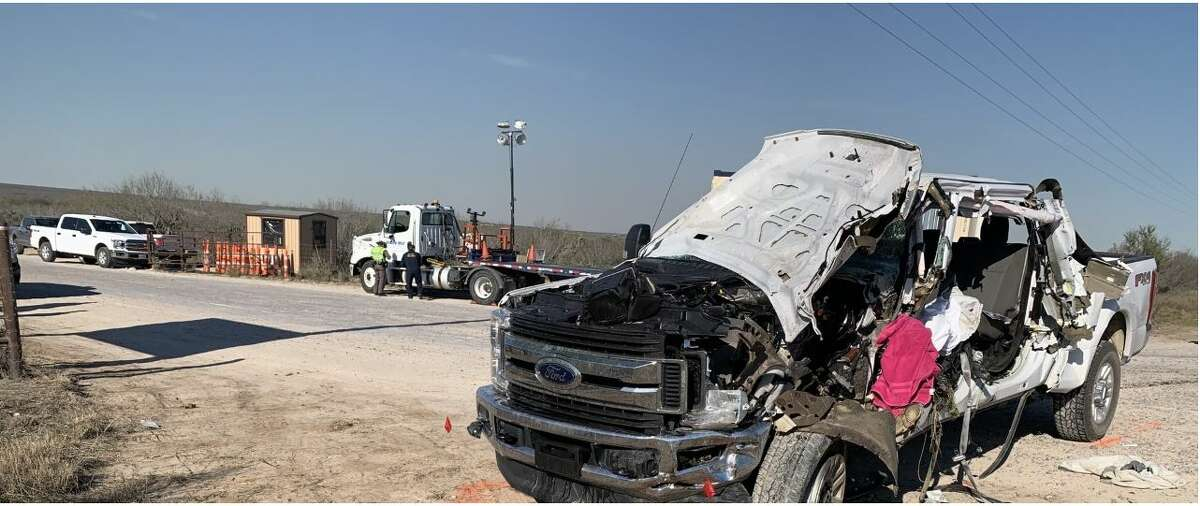 This vehicle rear-ended an 18-wheeler on Monday afternoon on U.S. 59. The driver of the vehicle would later die at the Laredo Medical Center. The Texas Department of Public Safety is investigating the crash