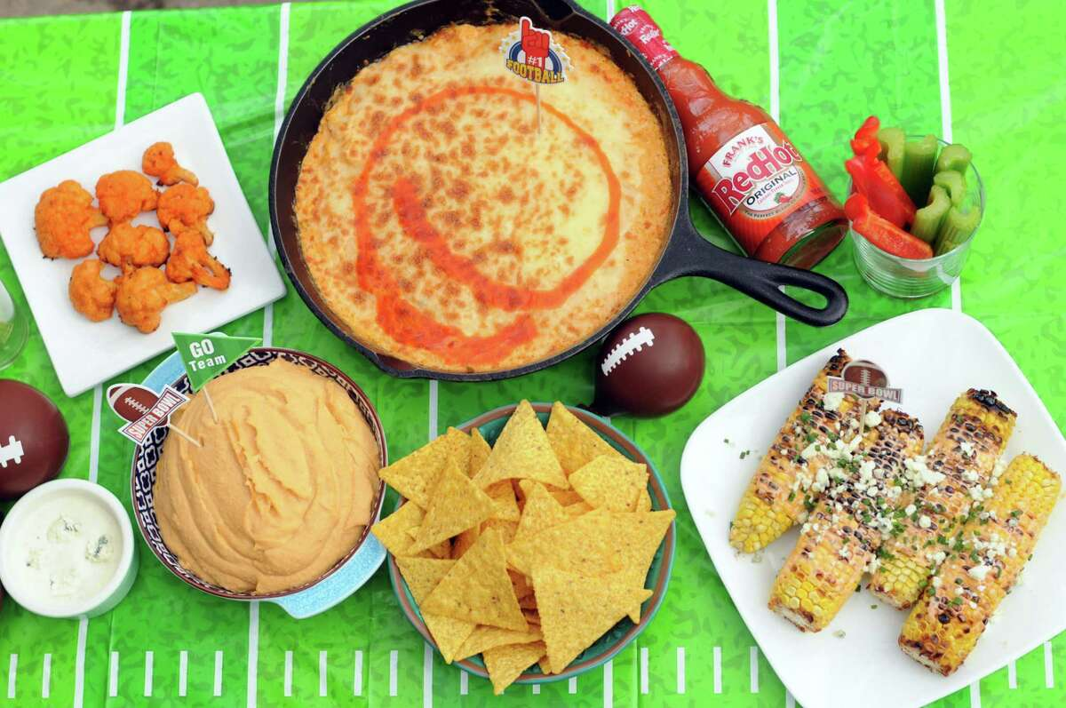 Give your Super Bowl spread all the flavor of Buffalo wings in these hot sauce-spiked recipes.