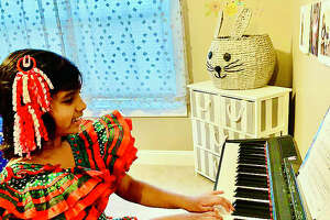 Columbus Elementary School student Inaya Bansal learns skills during the pandemic to propel her hobbies she hones during her free time.