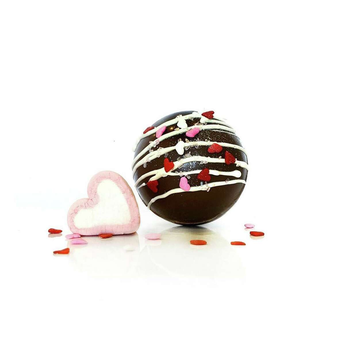 Castle Hill Chocolate is offering a variety of bonbons for Valentine's Day.