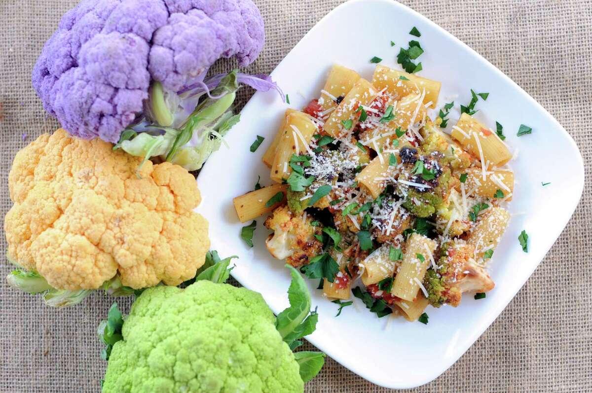 Pasta with Roasted Cauliflower