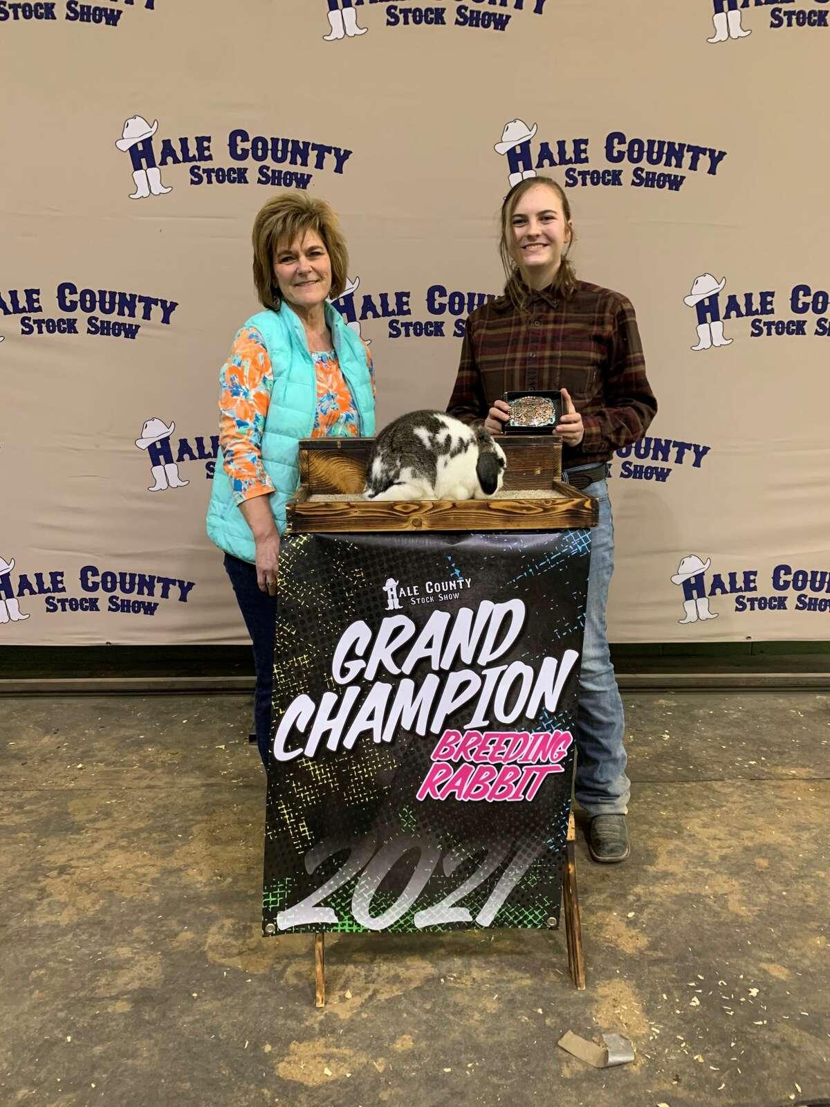 Breeding Rabbit Grand Champ - Hanna Bozeman