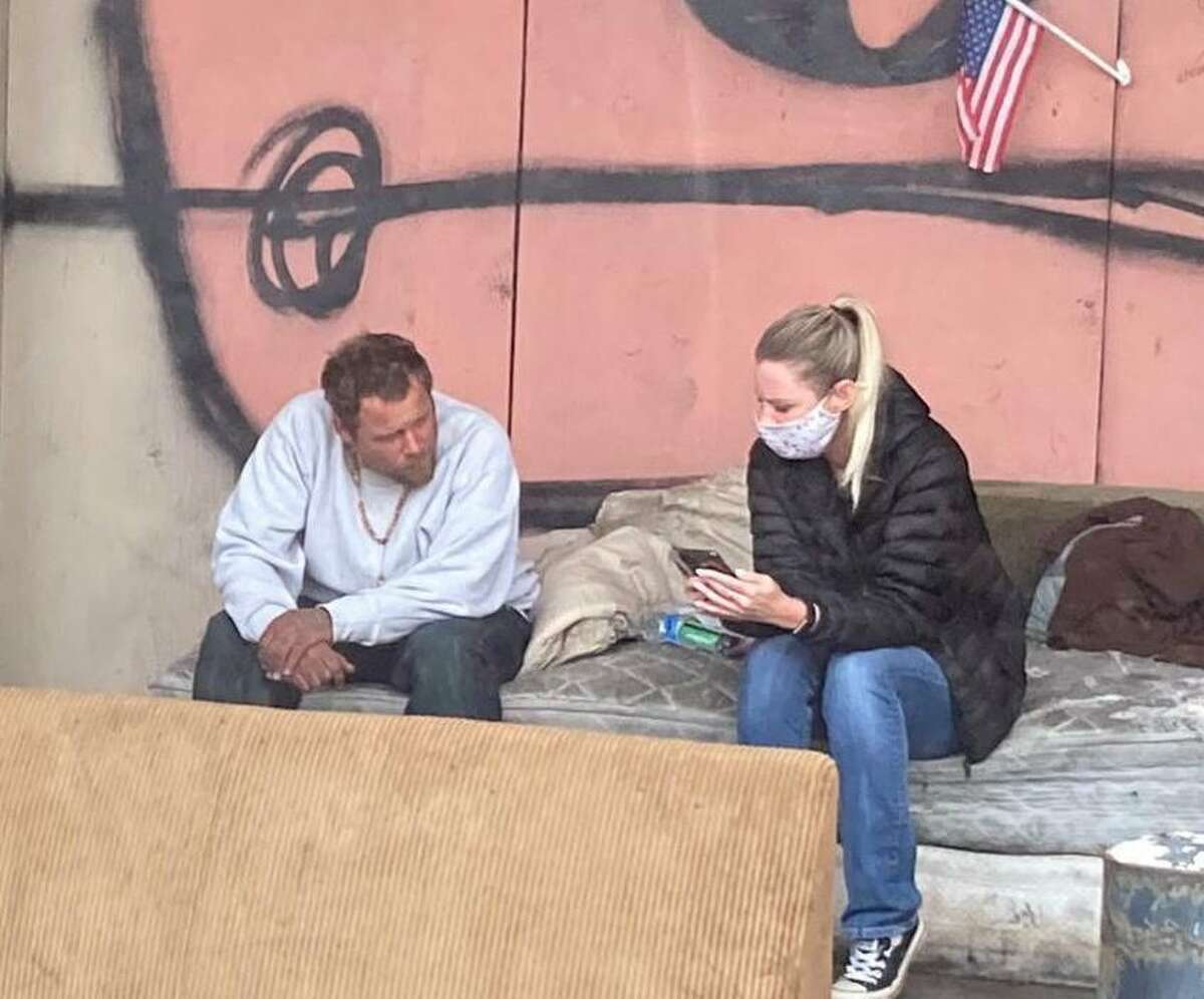 HOPE Haven staff helps their homeless clients with information on COVID-19, shelter, employment and more.