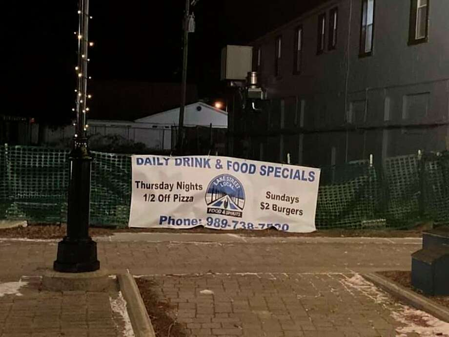 Port Austin's popular Lake Street Local announced its plans to open a patio this coming summer in the lot to the restaurants north where The Stock Pot once stood. (Courtesy Photo)