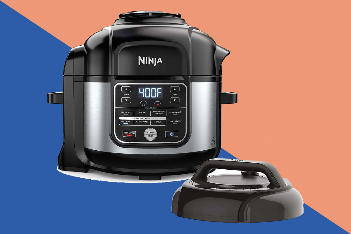Ninja Foodi 10-in-1 Pressure Cooker and Air Fryer for $199.90 at Amazon.