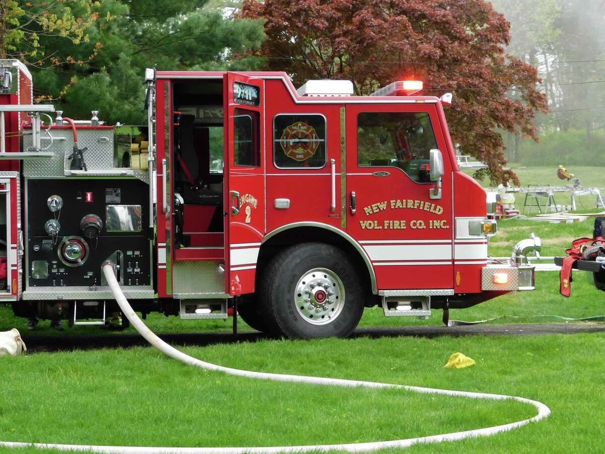 Firefighters responded to a fire at 7 Smoke Hill Drive in New Fairfield on May 14, 2019.