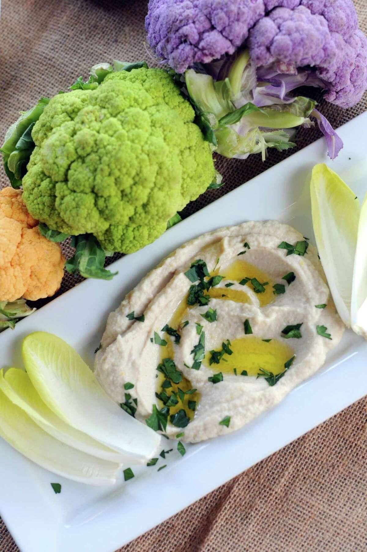 Creamy Cauliflower Dip