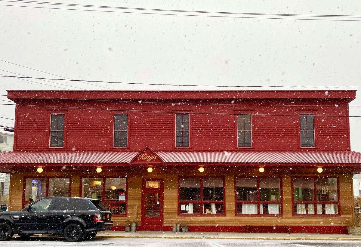Kitty's Market cafe in Hudson.