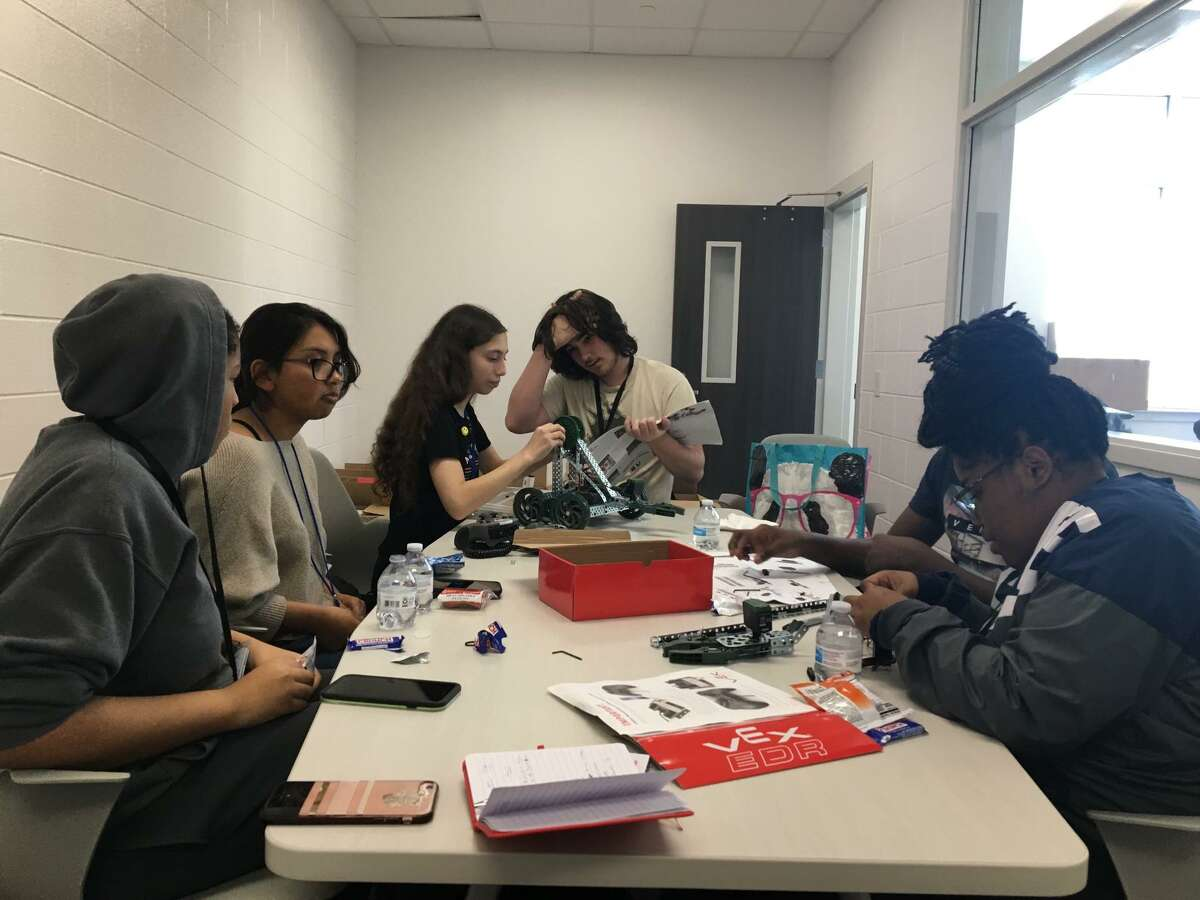 C.E. King High School in Sheldon ISD was awarded the AP Computer Science Female Diversity Award for 2020 for expanding access to female students.