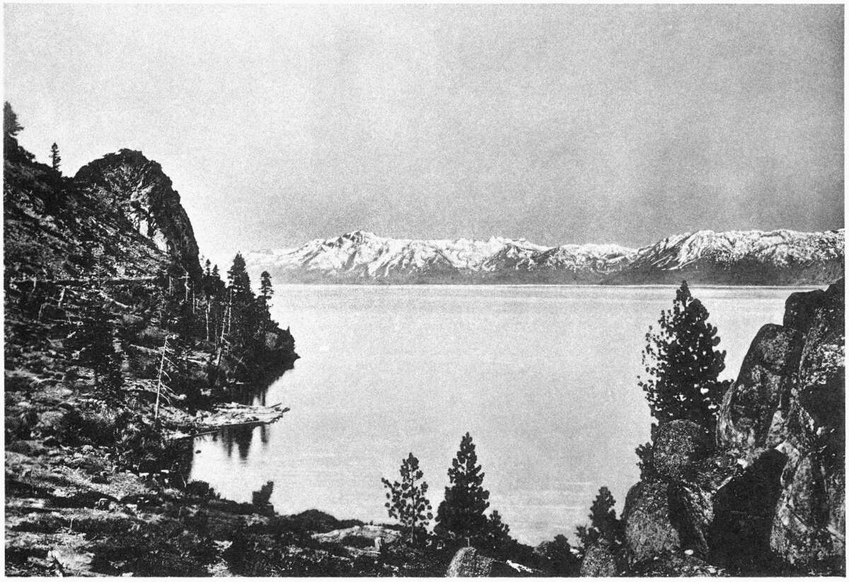 A photograph of Lake Tahoe from 1903.
