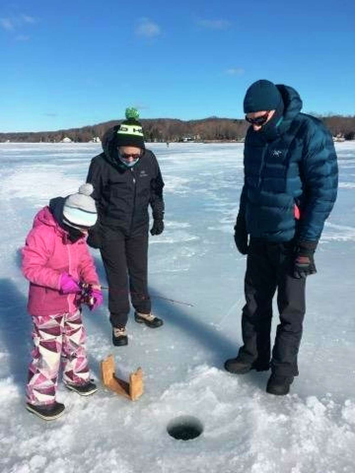 The Manistee County Sport Fishing Association will hold its third annual Portage Lake Ice Fun Fish onSaturday, Feb. 27. (News Advocate file photo)