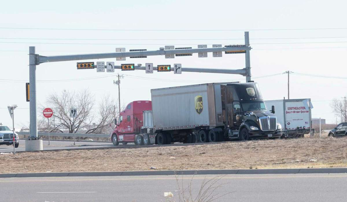 The intersection of Loop 250 and I-20 reported 37 crashes in 2020. 02/03/2021 Tim Fischer/Reporter-Telegram