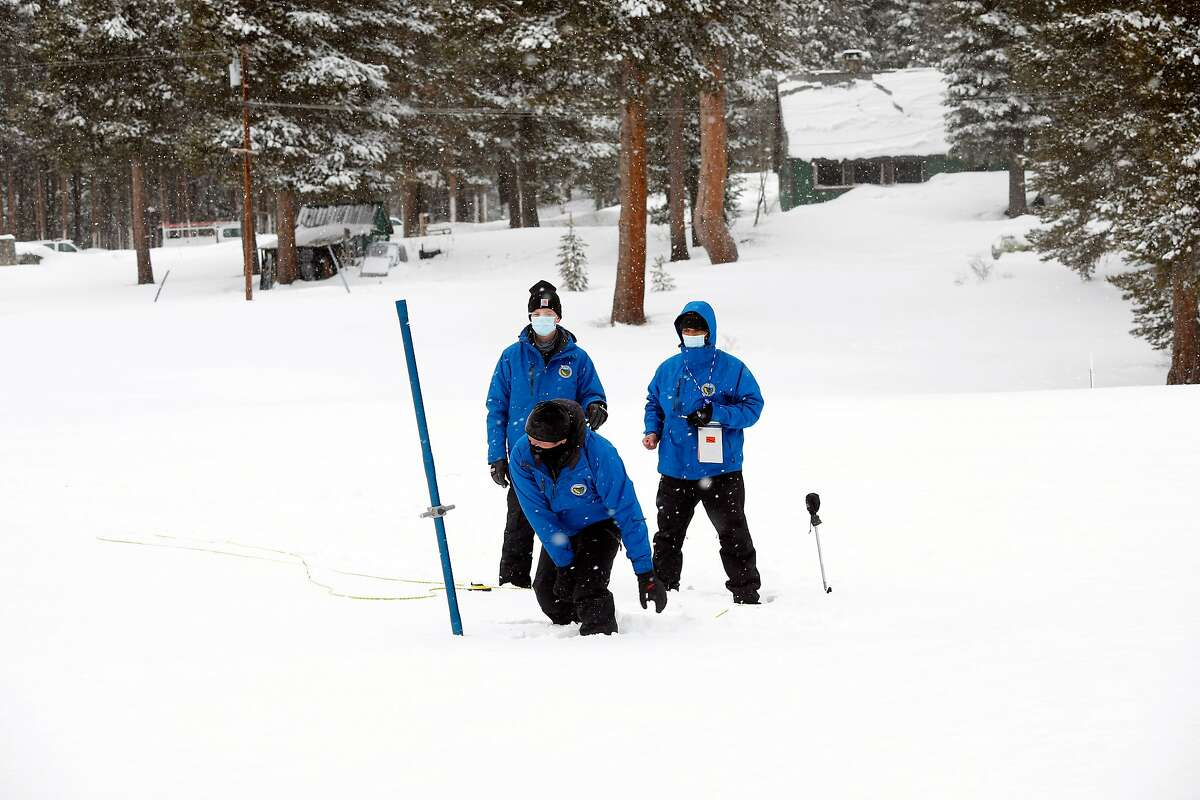 This month's statewide snowpack is measuring at 70% of average, even with last week's snowstorm.
