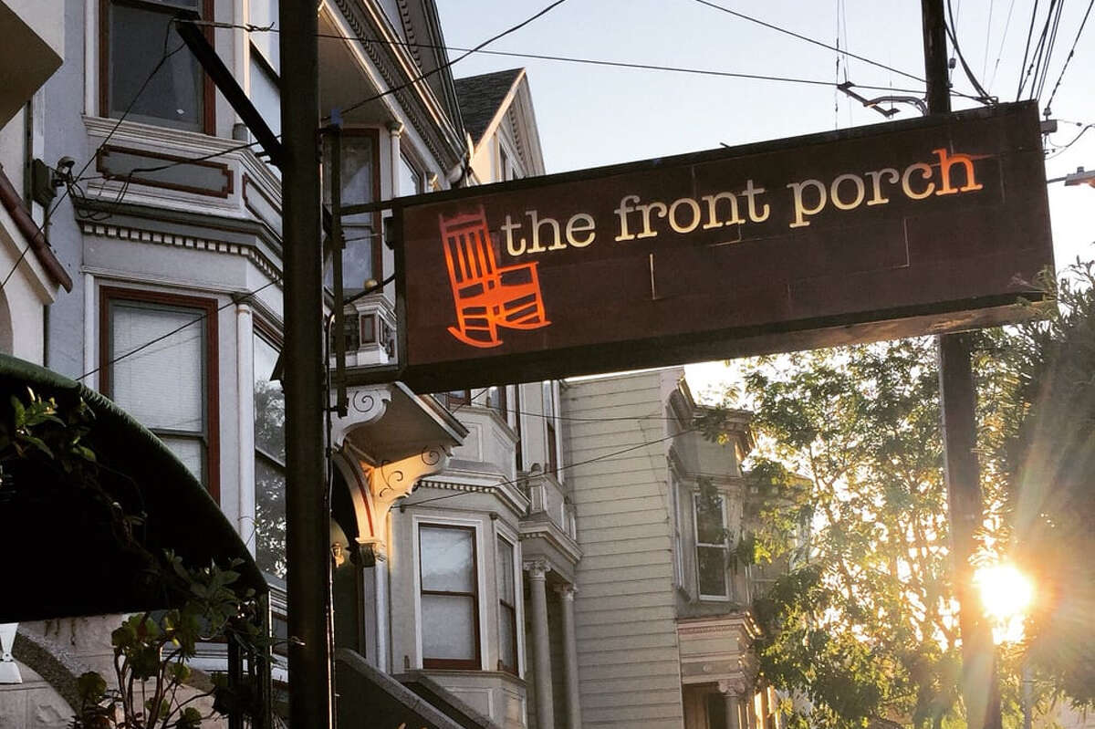 The Front Porch, a San Francisco restaurant at 65 29th St., recently taped an episode of Guy Fieri's