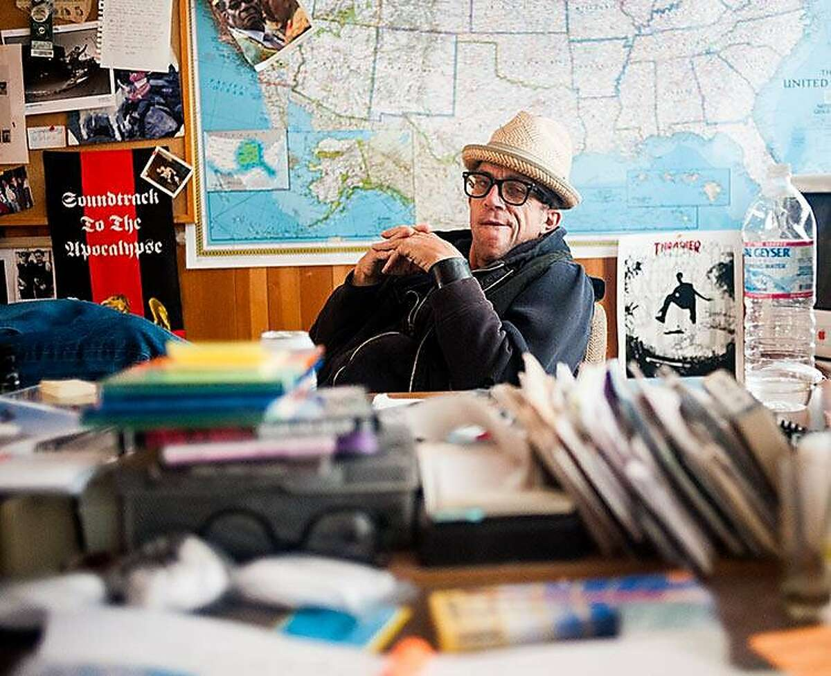 Jake Phelps, the former editor in chief of Thrasher magazine. Phelps died in 2019.