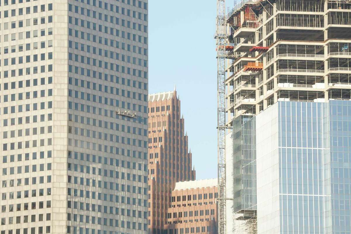 The JPMorgan Chase Towerought to be five stories taller.