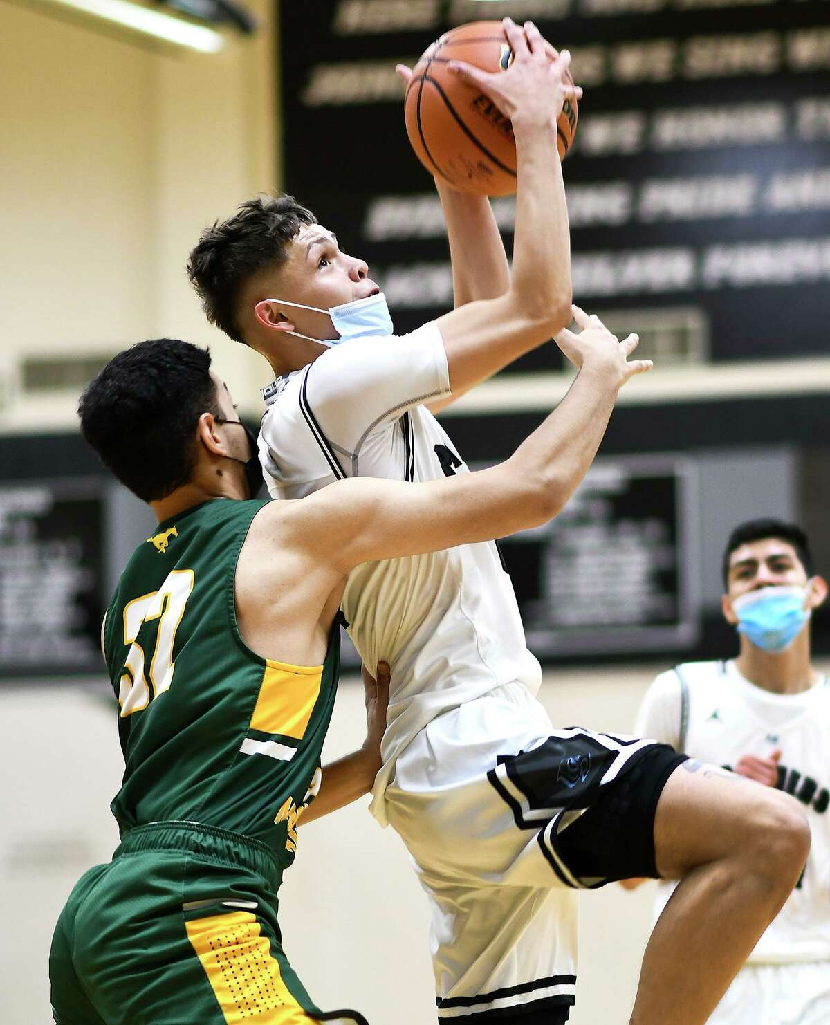 Carlos Lopez scored 17 points as United South beat Nixon by five on Wednesday.
