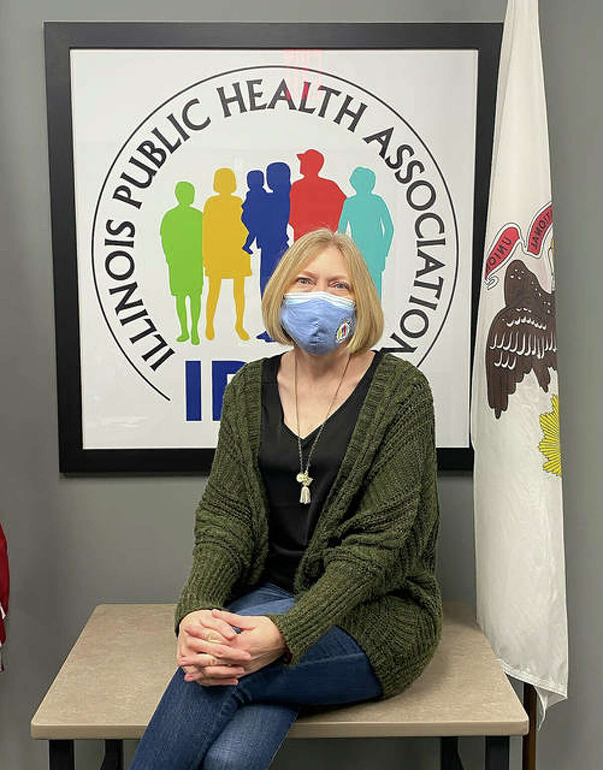 Tracey Smith, Director of Programs and Communications Health with Illinois Public Health Association.