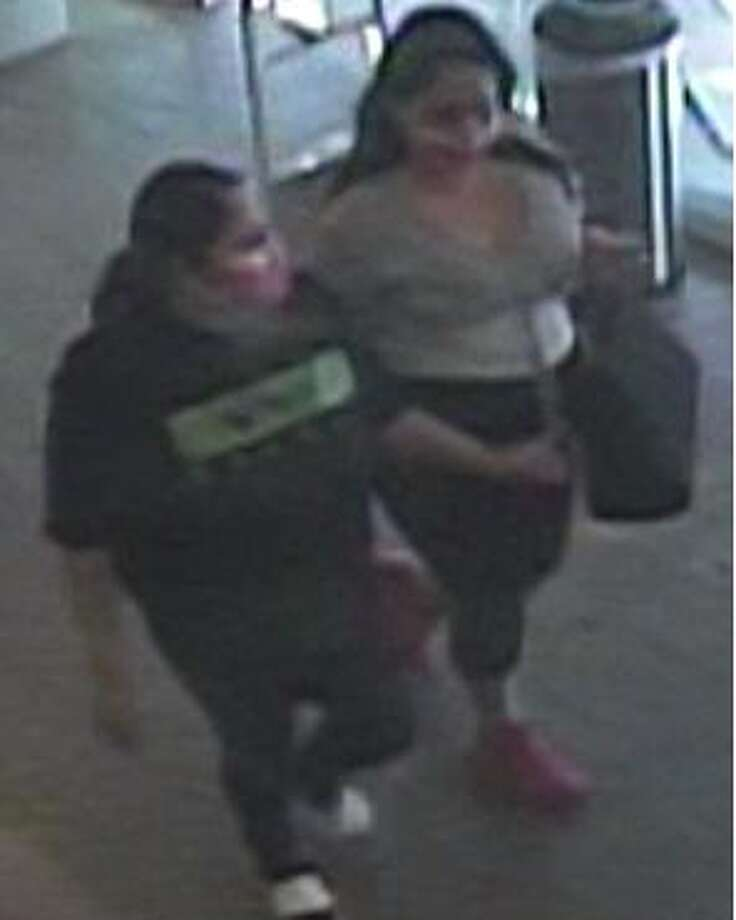 The Laredo Police Department released this image of two women who are wanted in connection with a recent theft at a department store. Photo: Courtesy
