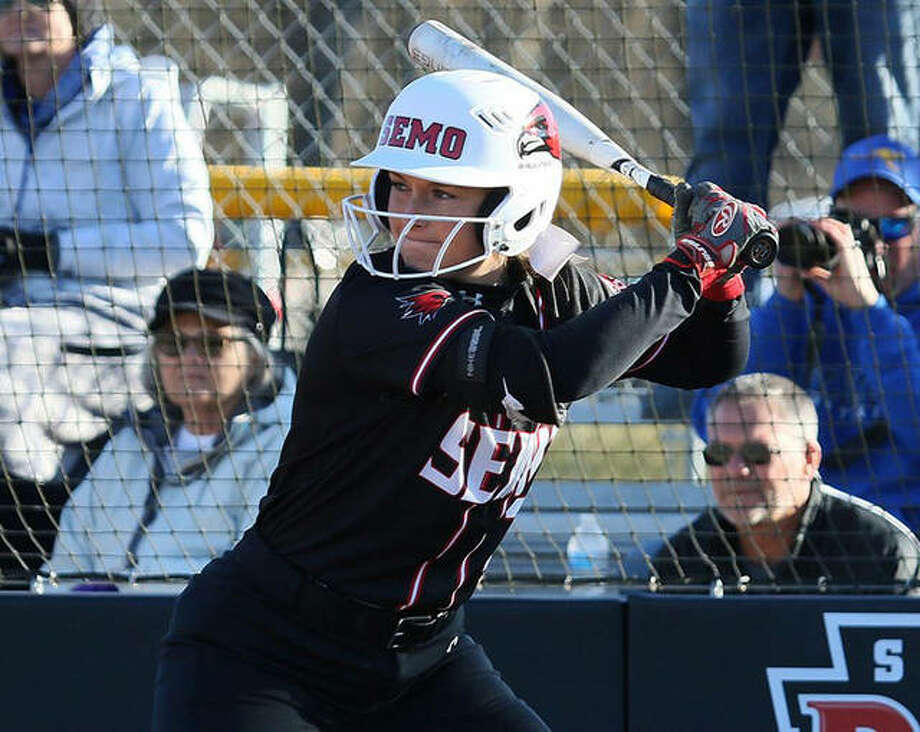 Southeast Missouri's Rachel Anderson, the 2019 OVC Player of the Year and former Telegraph Player of the Year at Edwardsville, returns for her final season with the Redhawks. Photo: SEMO Athletics