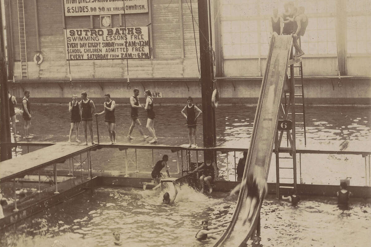 Sutro Baths, San Francisco. Webster & Albee, 1890s, Gelatin silver print.