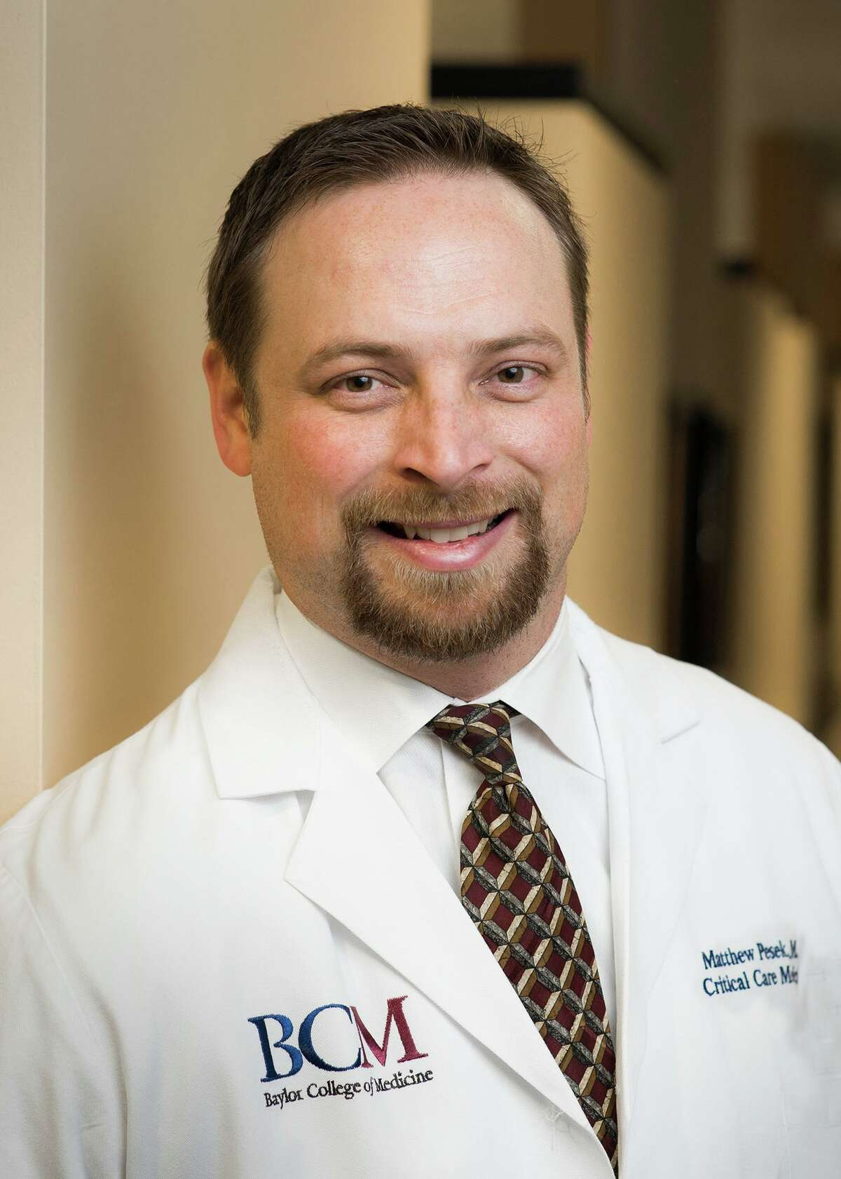 Dr. Matthew Pesek is medical director of the pediatric ICU at Texas Children's Hospital West.