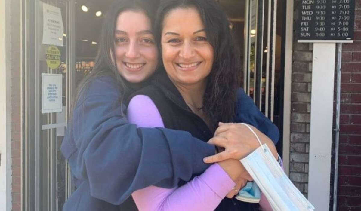 Karol Mora, right, was seriously injured in a car crash Jan. 14 in Ridgefield. The community has rallied behind the single mom of daughter Tatiana, left, and is raising funds to help pay her bills.