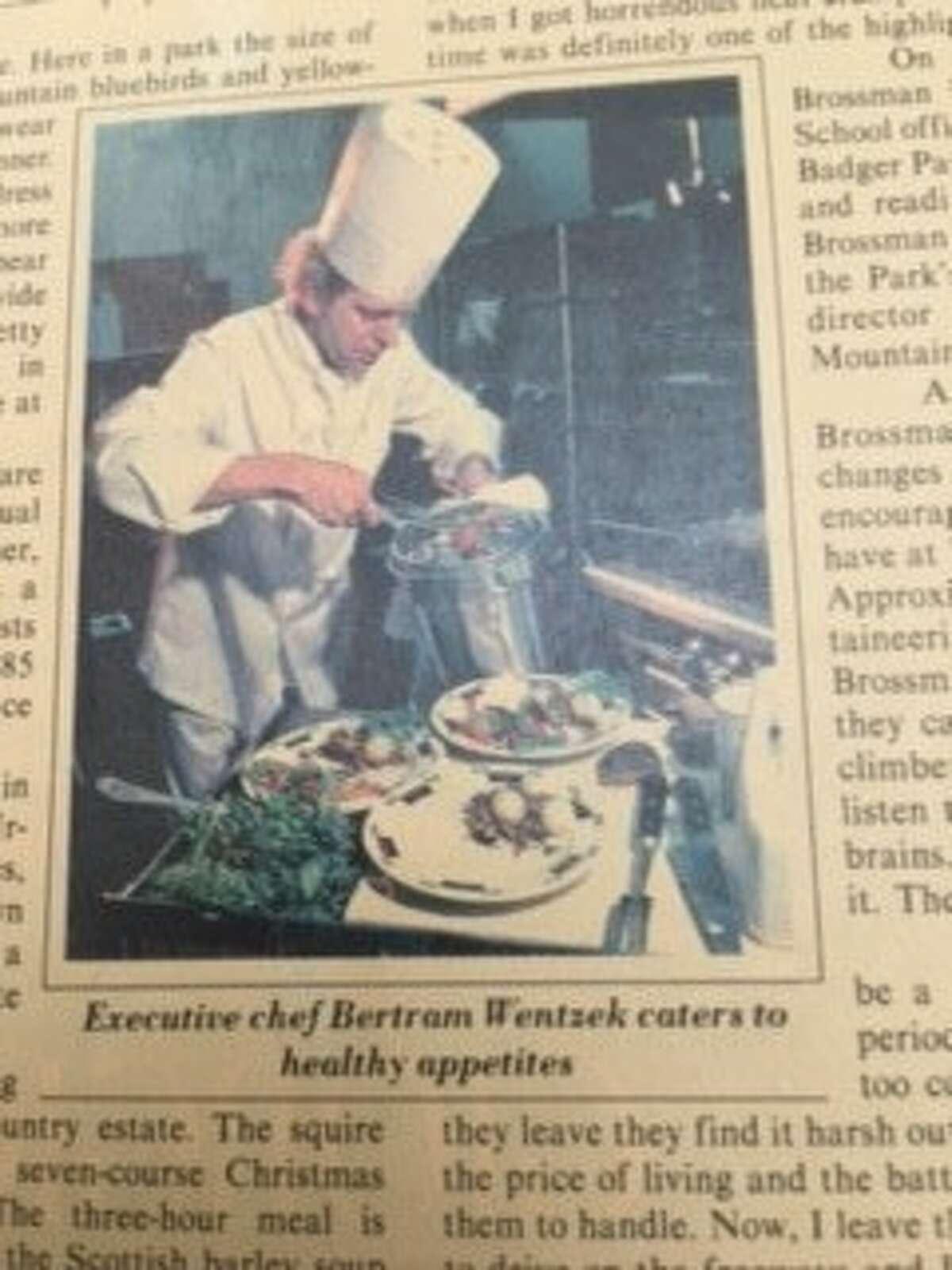 Chef Wentzek in the news.
