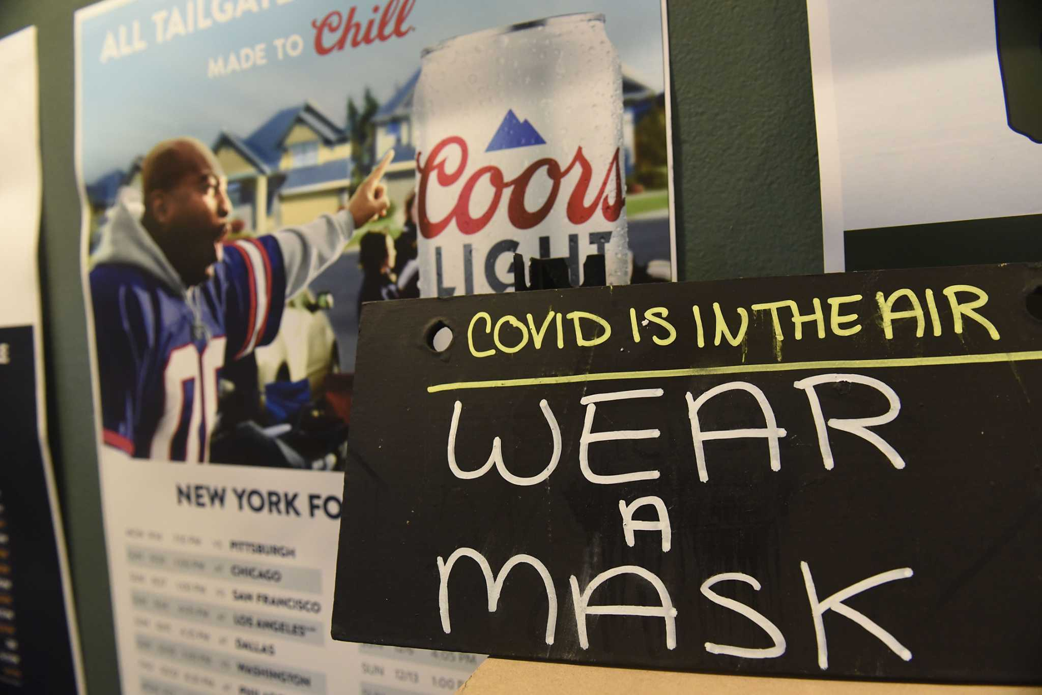 Do you still need a mask inside businesses? In New York, the answer is 'yes'