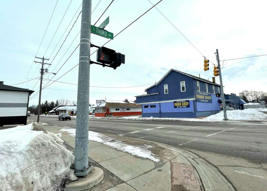 The city of Big Rapids recently received a $171,000 grant to resurface a section of Maple Street. The grant will be used to resurface Maple Street from Third Avenue to Bronson. (Pioneer photo/Bradley Massman)