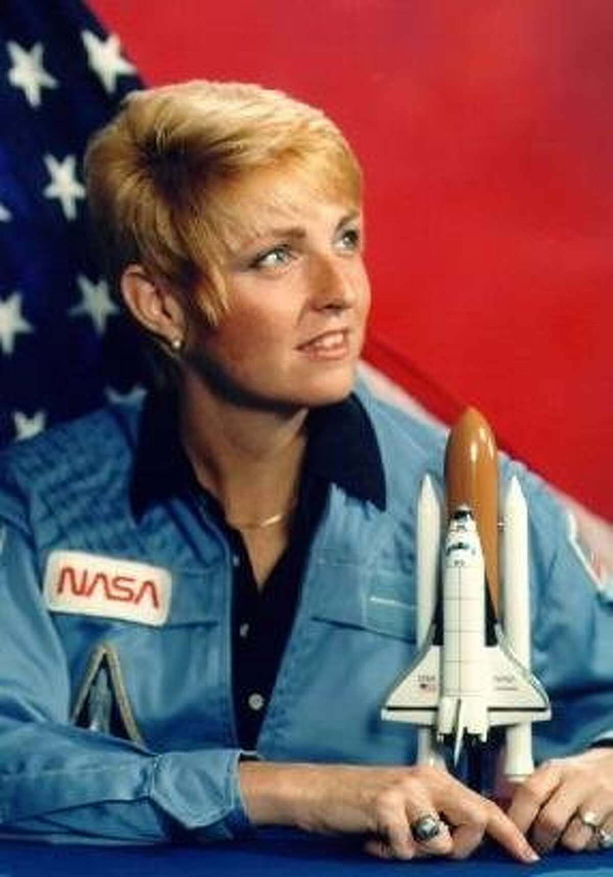 Millie Hughes-Fulford, astronaut and scientist in San Francisco, went into orbit in 1991 aboard the Space Shuttle Columbia.