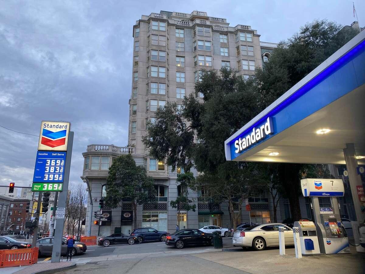 Standard gas station, 1501 Van Ness Ave., San Francisco.