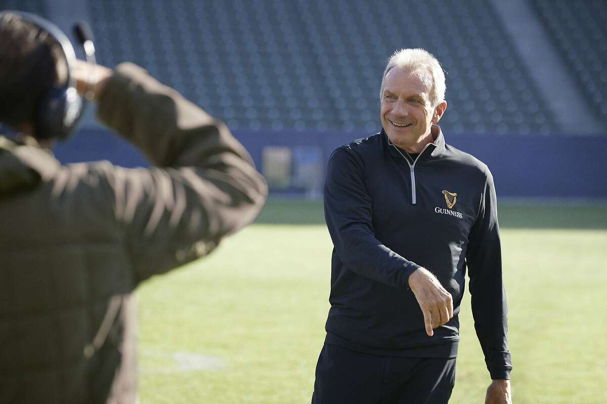 Joe Montana will appear in a pair of Super Bowl commercials, for Guinness beer and Frito Lay chips, on Sunday.
