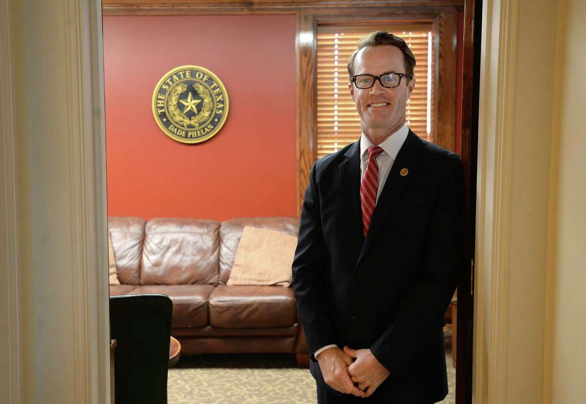 On Thursday, Texas House Speaker Dade Phelan, seen on Jan. 4, announced his picks for committee chairs in the Texas Legislature.
