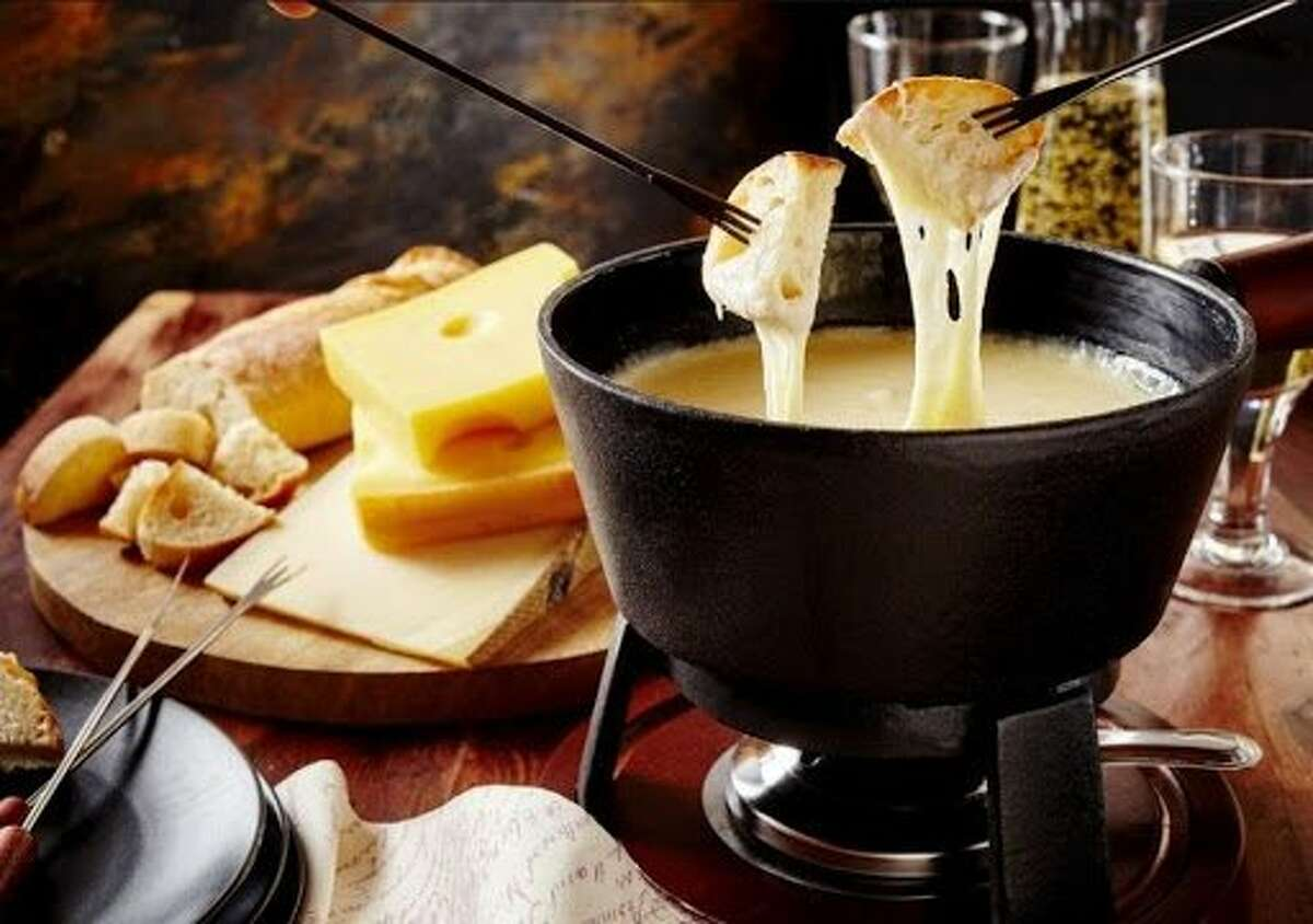 Truffled cheese fondue is available for Valentine's Day celebrations at home via San Francisco Proper.