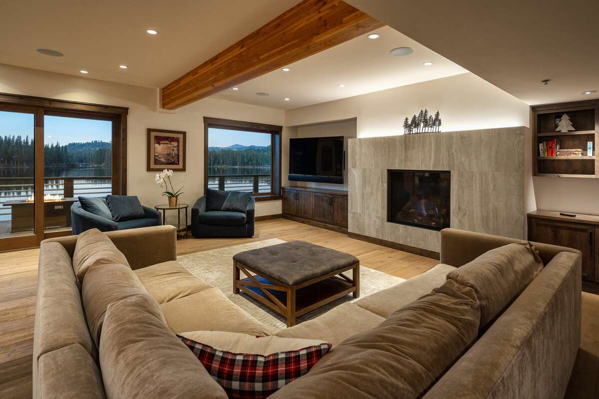 The flats feature fireplaces and walls of windows that open to the alpine setting.