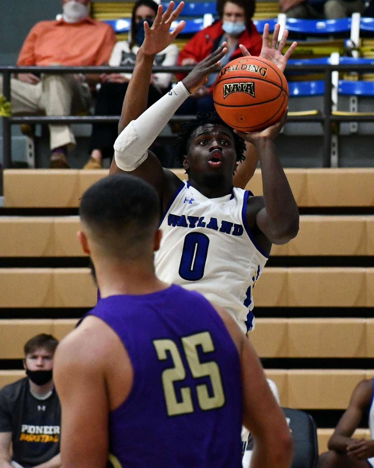 Wayland Baptist's men's and women's basketball team hosted Southwestern Assemblies of God in a pair of Sooner Athletic Conference basketball games on Thursday in the Hutcherson Center.