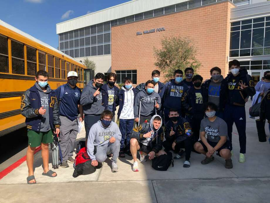 Alexander has several swimmers competing at the regional meet Friday in Brownsville. Photo: Courtesy
