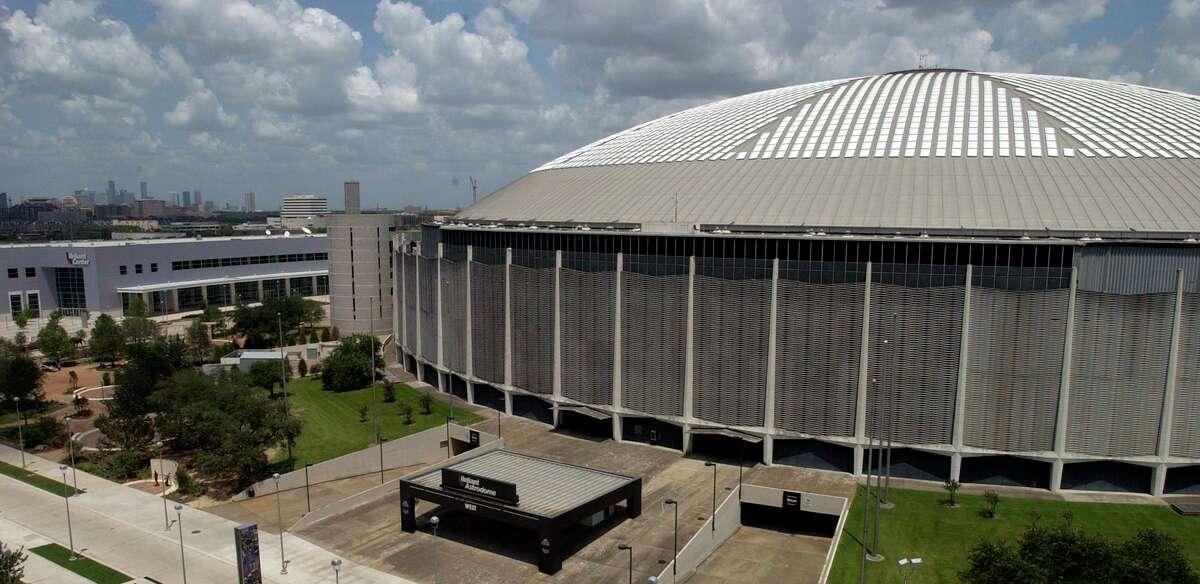 The Astrodome in 2003.