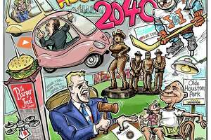What will Houston be like in 2040? Craig Hlavaty has his predictions. Illustration by Ken Ellis.