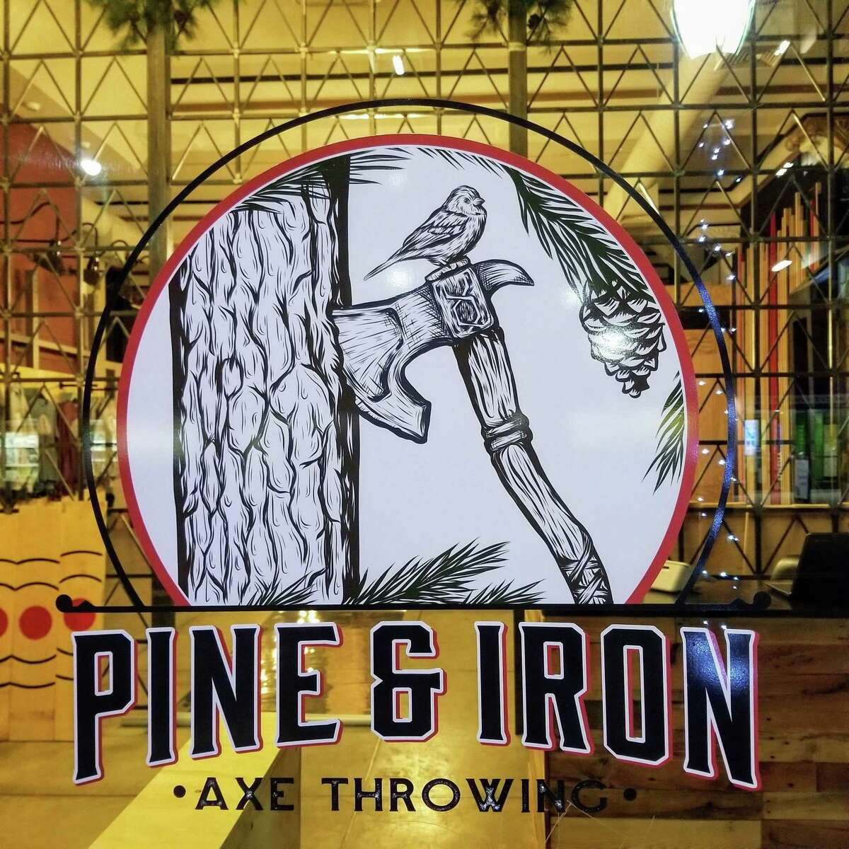 Pine & Iron offers ax-throwing lessons and sessions in New Haven.