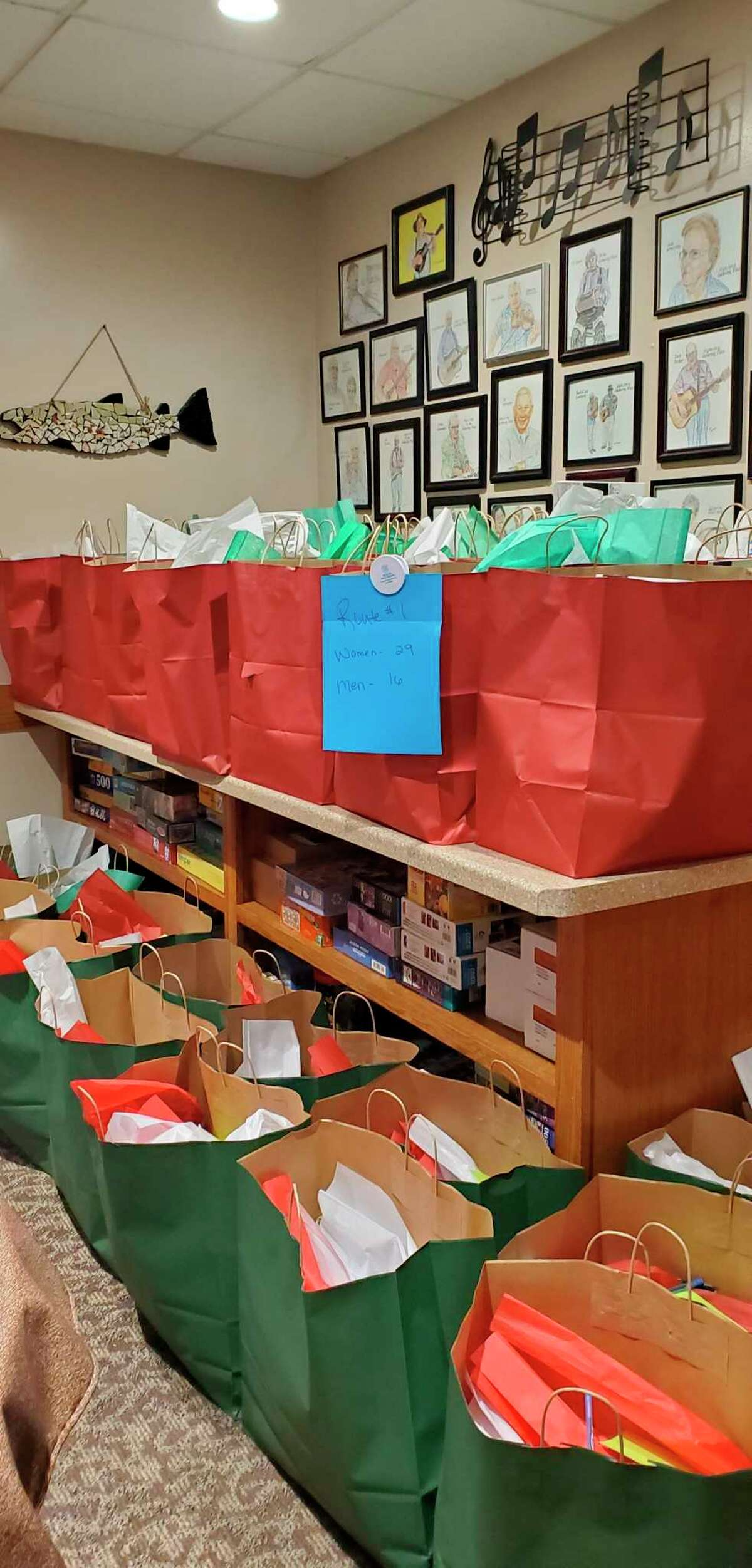 Benzie Senior Resources delivered 260 Christmas bags to home delivered meals clients in December 2020. (Courtesy Photo)