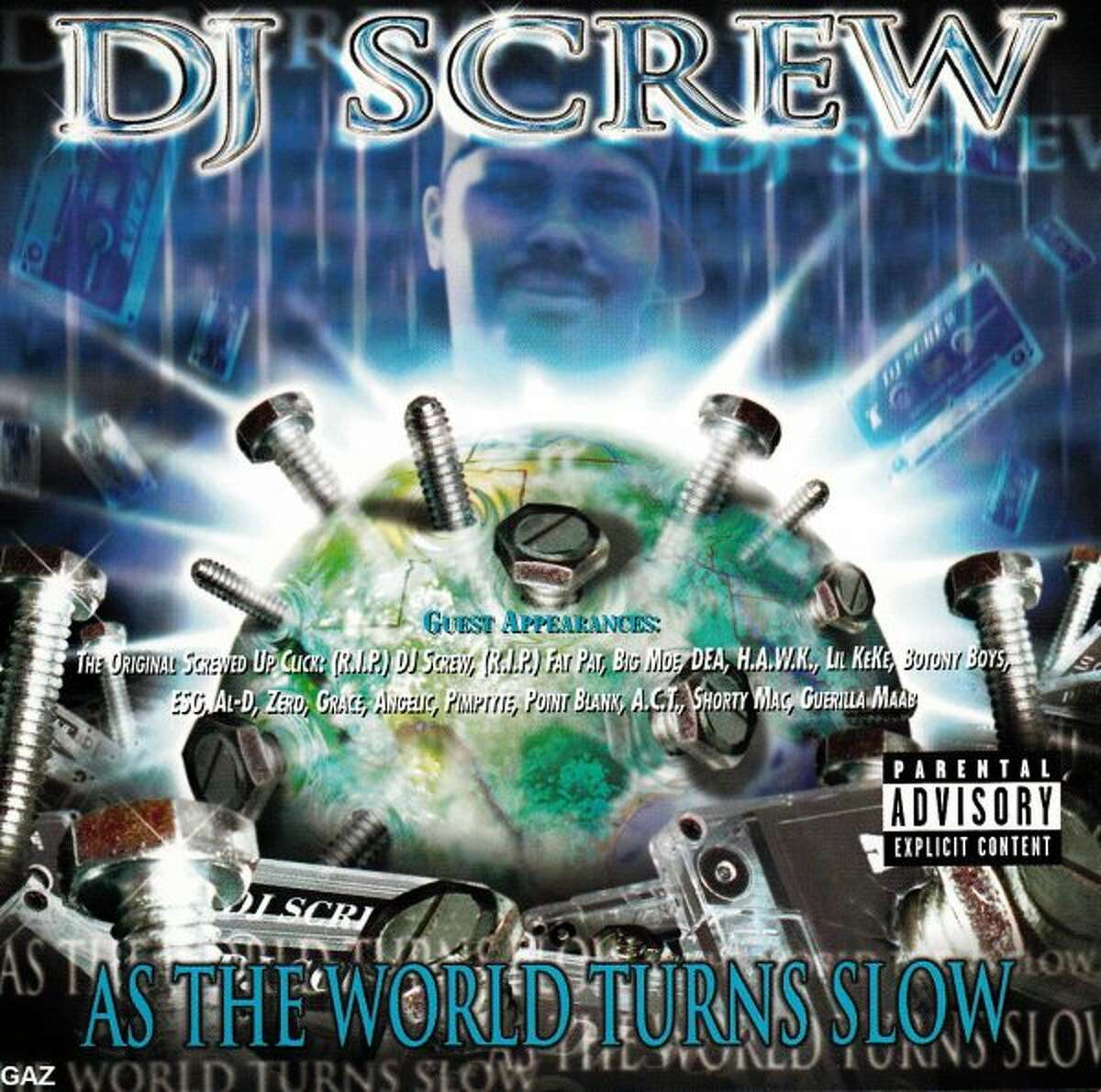 DJ Screw - As The World Turns Slow2002, Wreckless Entertainment Houston, Texas.