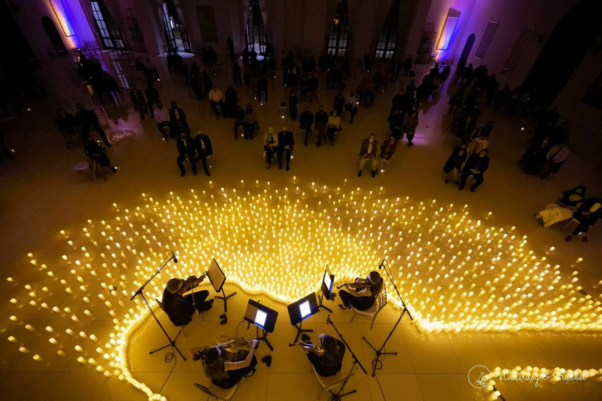 A Candlelight concert at Citadel Houston.