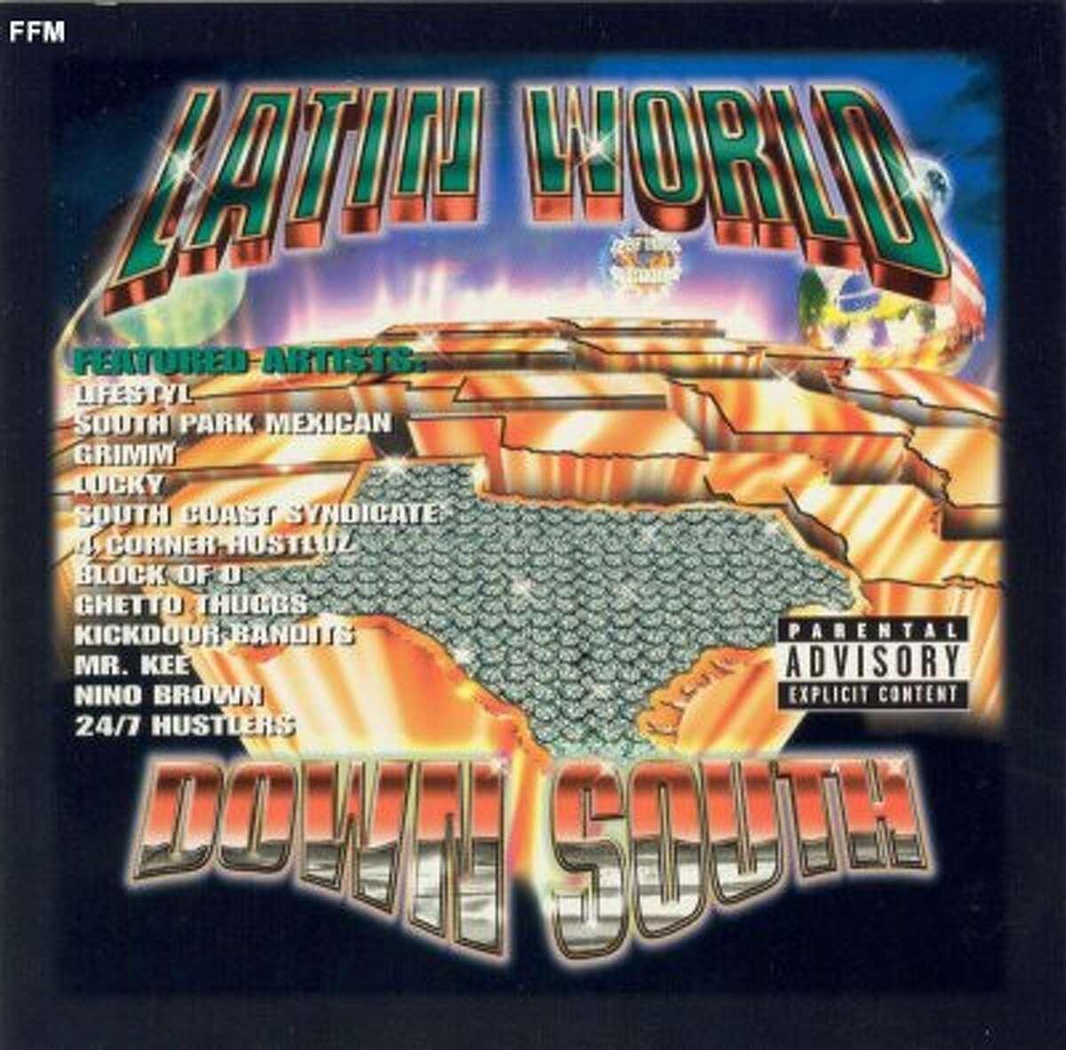 Latin World Down South, 2000, Latium Records, Houston, Texas.