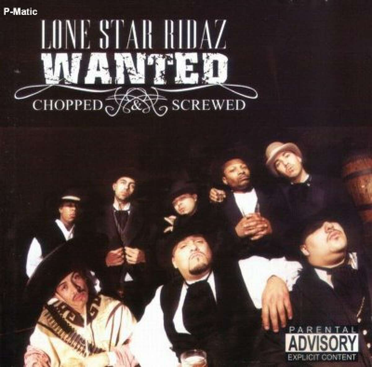 Lone Star Ridaz,Wanted. 2001, Dope House Records, Houston, Texas.