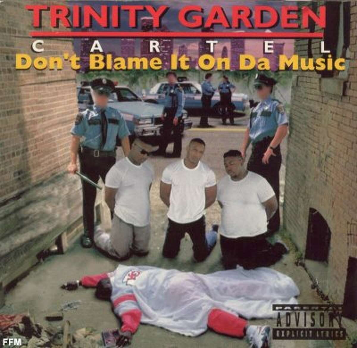 Trinity Garden Sign -