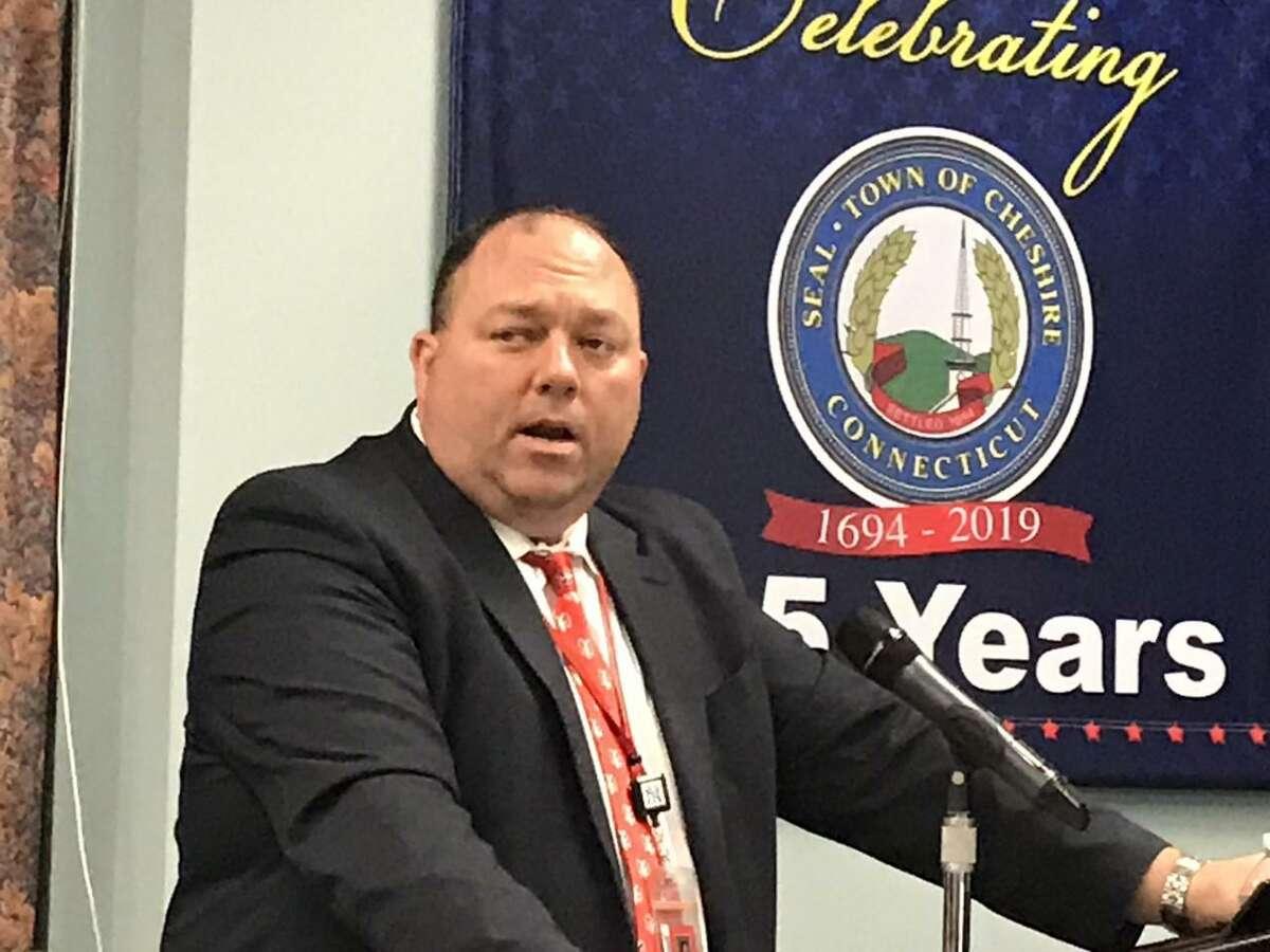 Cheshire Superintendent of School Jeff Solan
